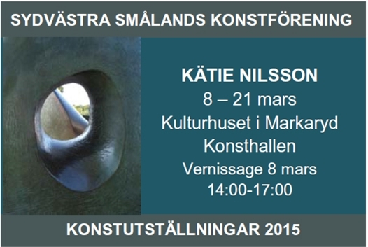 sydvaestra smaalands konstfoerening - program 2015