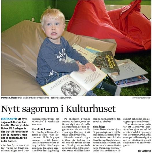 nytt sagorum i kulturhuset - smaalaenningen 151009