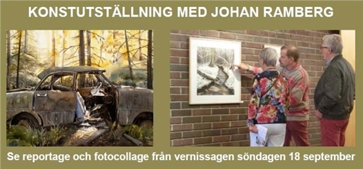 johan ramberg - vernissage